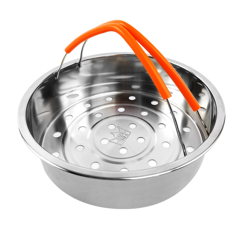 Stainless Steel 304 Rice Cooker Will Pore Evaporation Silica Gel Defence Burn Stainless Steel Steamer Bring Both Handle