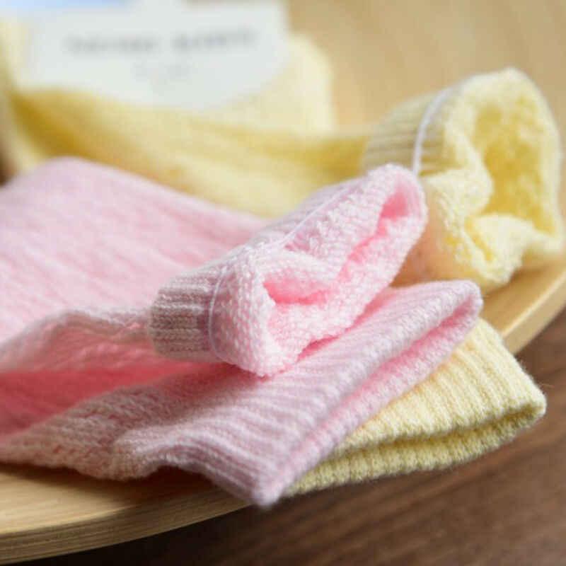 Чулки для новорожденных девочек и мальчиков от 0 до 4 лет элегантные сетчатые гольфы из хлопка, Нескользящие мягкие удобные чулки