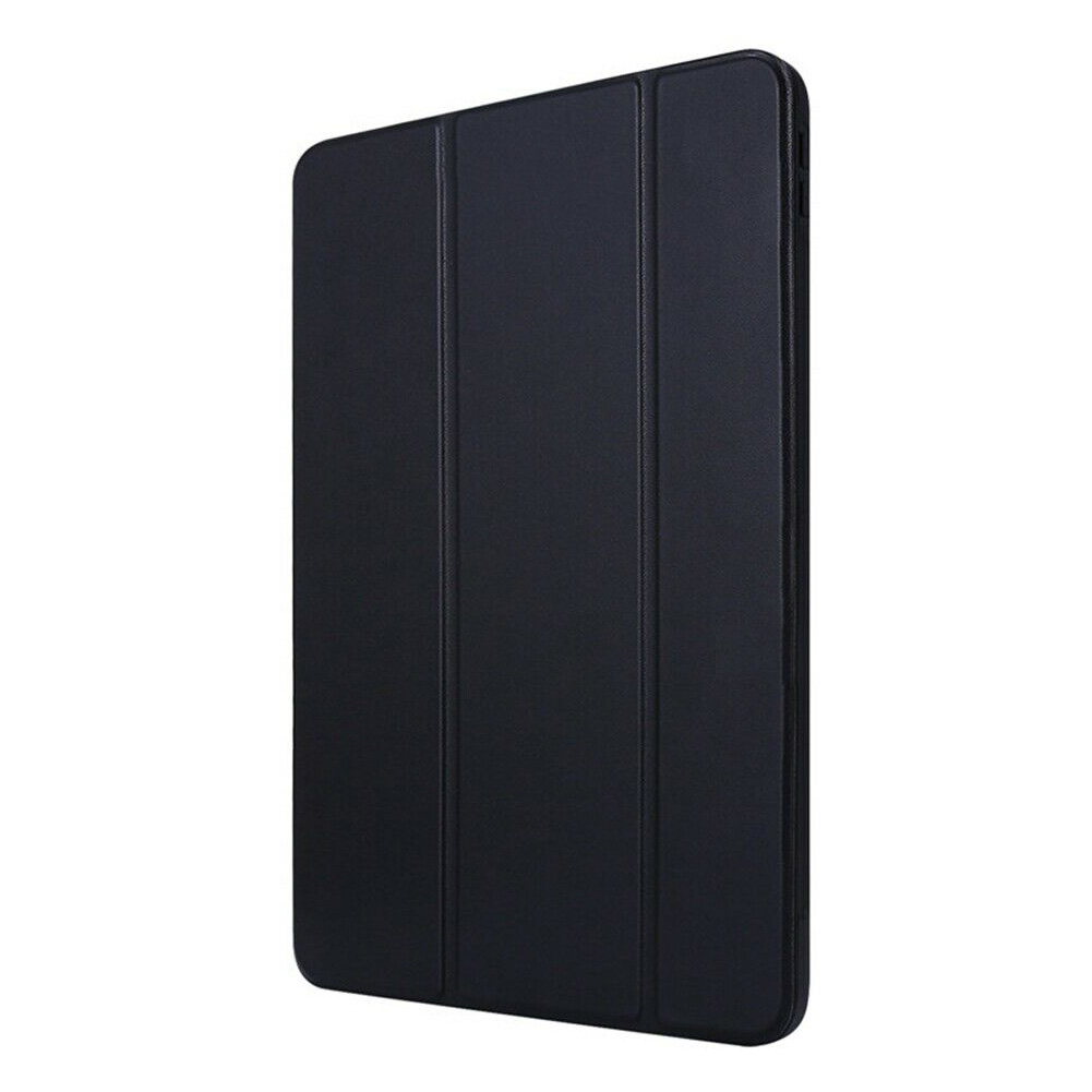 Black Black Tablet Case for iPad Air 4 10 9 2020 PU Leather Stand Protective Auto Sleep Wake