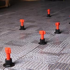 Image 4 - 75 pièces/ensemble cales de niveau entretoises pour Carrelage mural Carrelage niveau remplaçable aiguilles en acier localisateur entretoises pince