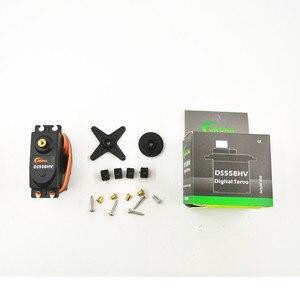 Image 1 - Corona DS558HV ad alta pressione di grandi dimensioni torque digital servo standard 58g/14kg/.18 sec robot servo RC ala fissa/elicottero parte