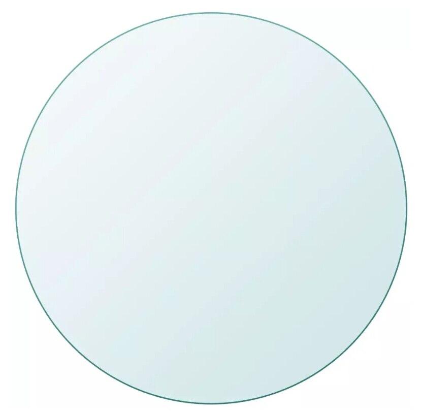 Новый журнальный столик, мебель, аксессуары VidaXL, столешница из закаленного стекла, Круглый 700 мм/800 мм, журнальный столик, современный