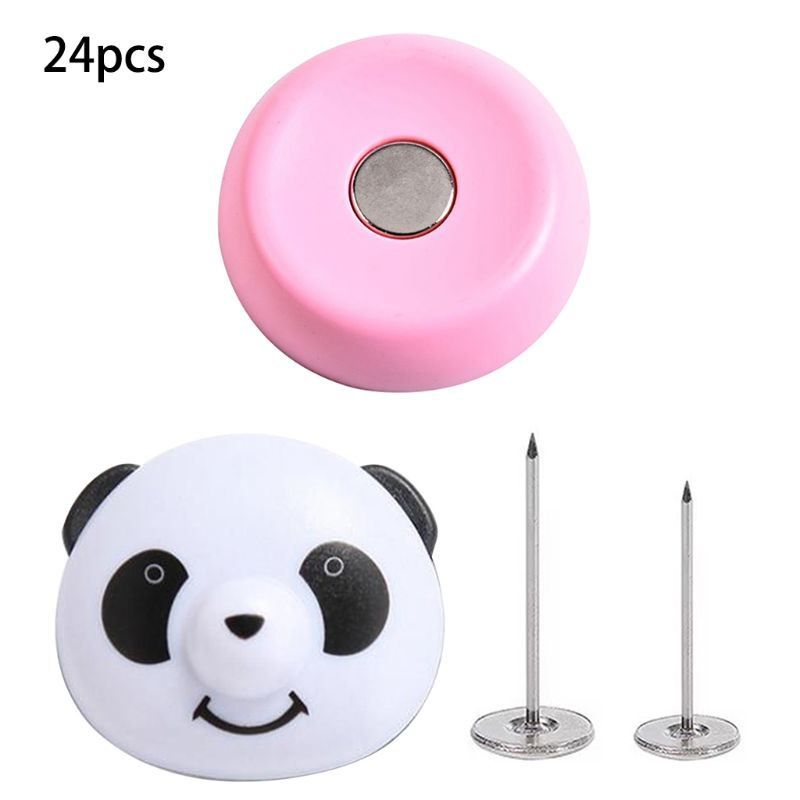 24pcs 24pcs Bed Sheet Adjustable Fasten Holder Panda Buckle Bed Sheet Non-Slip Quilt Cover Magnetic Anti-Move Buckle Fixer Clip