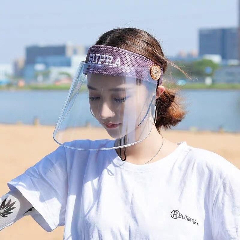 Anti Saliva Droplets Dust-proof Anti-virus Hat Headgear Helmet Gas Mask Protective Mask Transparent Full Face Headgear