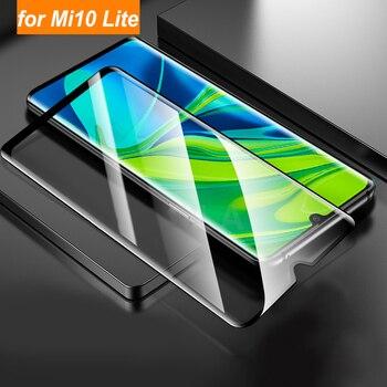 Перейти на Алиэкспресс и купить 2 шт./лот Защитная пленка для экрана для Xiaomi Mi Note 10 Lite стекло защитное закаленное стекло для Xiaomi CC9 Pro Note 10 Pro mi10