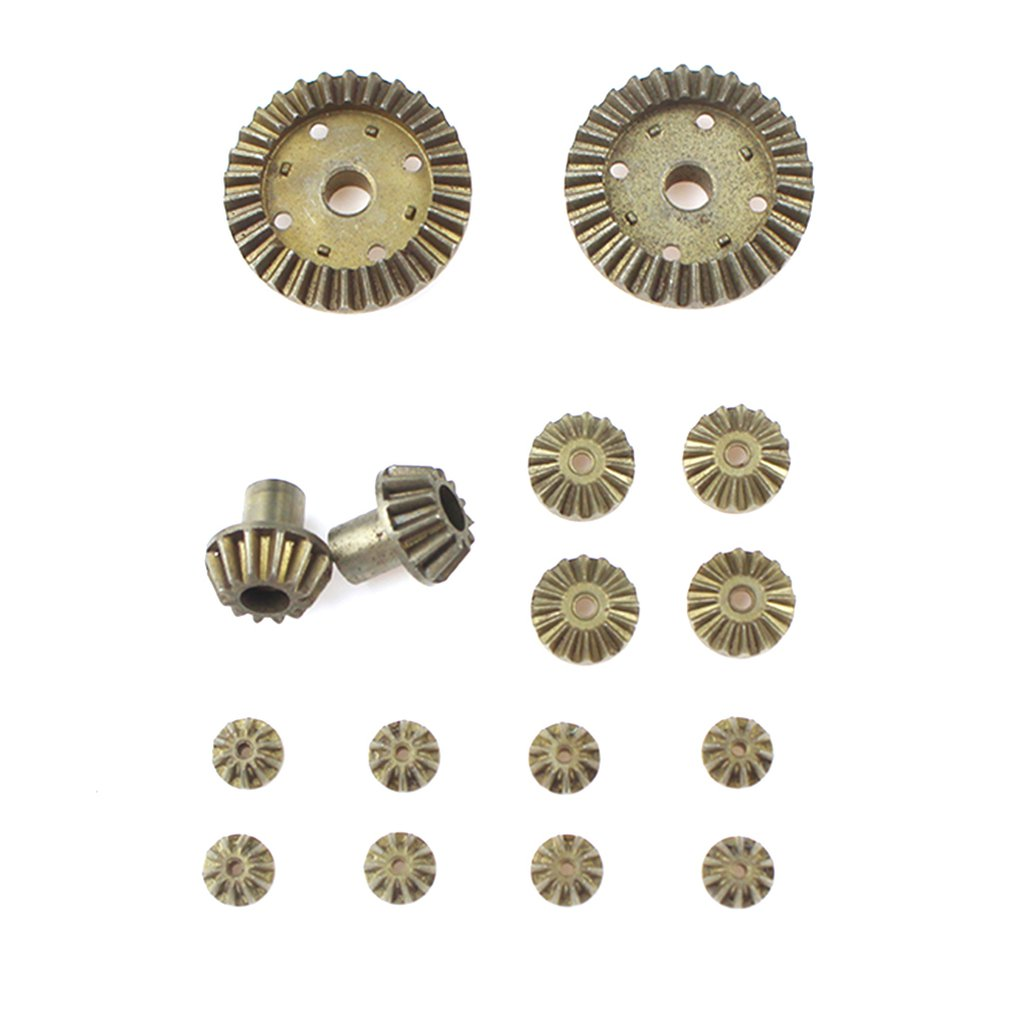 Upgrade <font><b>Metal</b></font> Gear 30T 24T 12T Differential Driving Gears 0011/0012/0013/0014 for Wltoys <font><b>12428</b></font> 12429 RC Car Spare Parts image