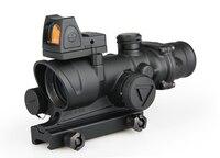 2020 NEW ARRIVAL mini Reflex red dot scope ACOG 4x32 LED Scope Tactical Airsoft