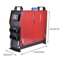24V Car Heater 5KW Car Parking Air Diesel Fuel Heater Set 5000 12V 24V For Car Truck Bus Car Accessories 41.5x15x41cm