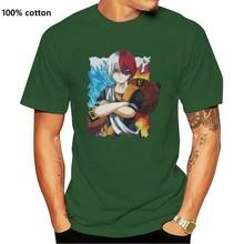 Shoto Todoroki Shouto Todoroki and Gaara - T-shirt T Shirt Summer Style Fashion Men T Shirts Top Tee O-Neck Teenage Plus Size