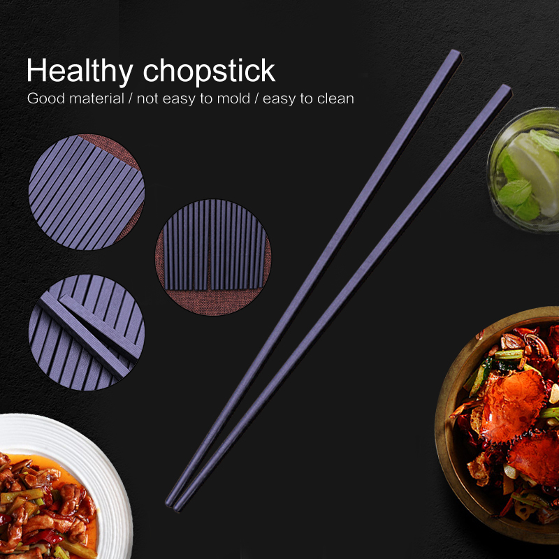 1pair Chopsticks Alloy Non Slip Sushi Food Sticks Chop Sticks Chinese Gift Reusable Chopsticks Big Deal D0f4 Cicig
