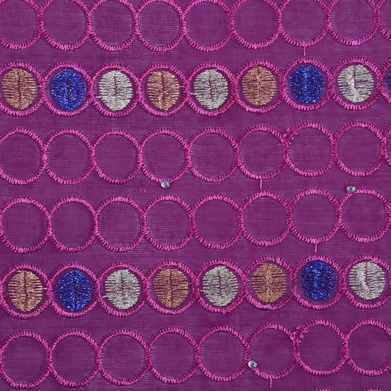 Последние Стиль швейцарская вуаль кружева в швейцарской фуксии африканская швейцарское хлопчатобумажное кружево ткань с камнями для нигерийских каждого платья F1698