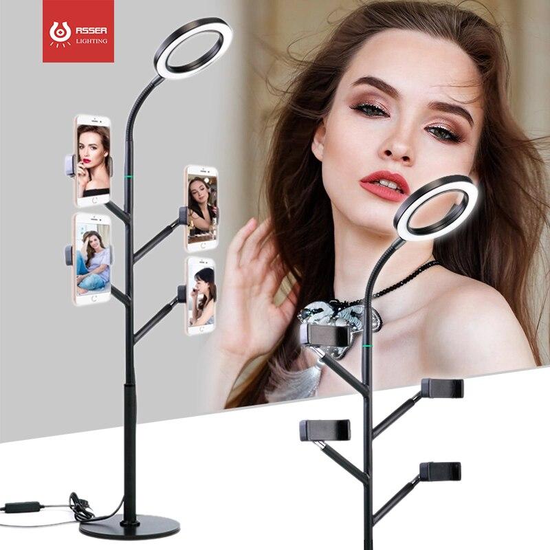 Профессиональный Камера светодиодный видео светильник Настольная