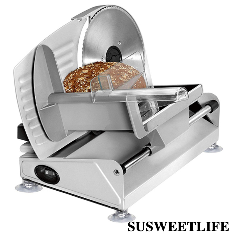 220V/110 electric Slicer Household Lamb slice meat Slices of bread Hot Pot Desktop Meat cutting machine