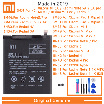 цена на Original XiaoMi Replacement Battery For Xiaomi Redmi 3 3S 3X 4X 4A 5A 3 pro 5 Plus Mi5 Mi 5X  Note 3 4 4X 5 5A 6 7 Pro Batteries