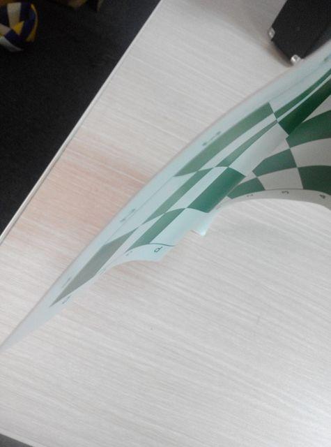 plateau d'échec flexible de voyage en pvc 34.5cm 42cm 51cm 5