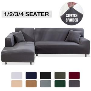Image 1 - Эластичный стрейч диван Ipad Mini 1/2/3/4 местный Sof Чехол Диванные покрывала для универсального диваны для гостиной, вид в разрезе L фасонный чехол
