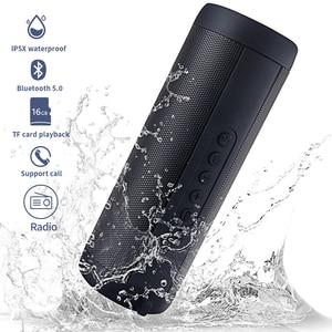 Ecoboseo беспроводной Bluetooth динамик водонепроницаемый портативный открытый бас Колонка громкоговоритель FM Raido SD карта Aux Micro Hands-free