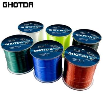 GHOTDA Fishing Line 500M Nylon Monofilament