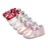 Neugeborenen Baby schuhe Kleinkind Baby Mädchen Krippe Schuhe Boy Weiche Sohle PU Leder Schmetterling Infant Anti-Rutschig einfach auf off prewalker