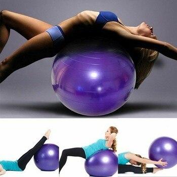 85cm Fitness Pilates bola Balance de prueba de explosión pelota de Yoga de PVC ejercicio gimnasio de entrenamiento Yoga balón para Core interior Crossfits entrenador # g4