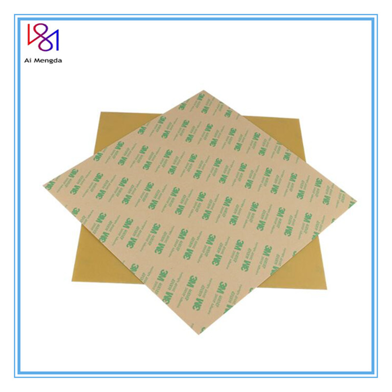 1pcs 3d Printer Pei Sheet 220 235 305mm 3d Printing Build Surfacewith 3m Tape Polyetherimide Ultem Sheet 0 3mm Thickness