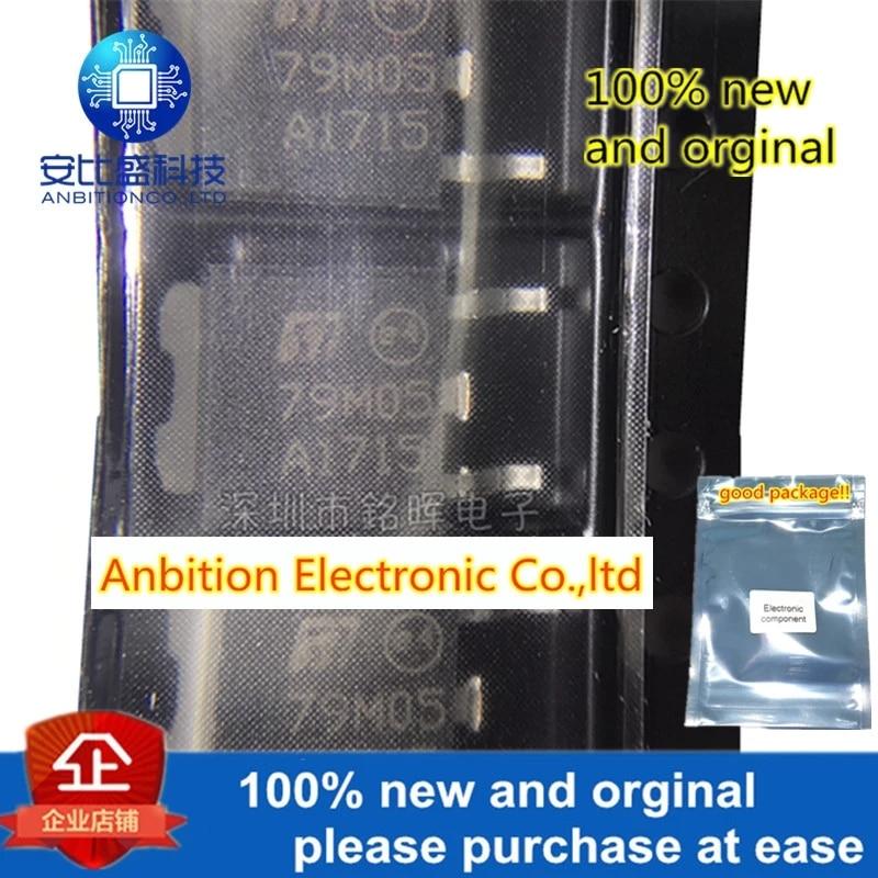 10pcs 100% New And Orginal L79M05CDT-TR L79M05CDT 79M05 TO-252 5V Three End Regulator In Stock
