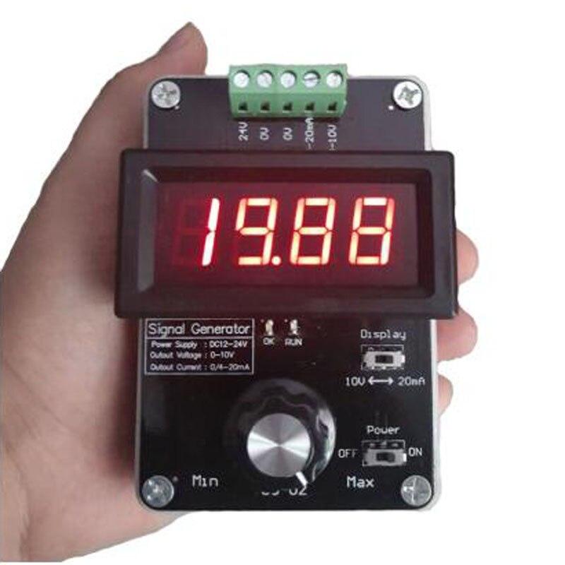 Генератор сигналов с регулируемым током, 0-20 мА/4-20 мА/0-10 в