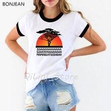 new arrival 2019 HAKUNA MATATA shirt women plus size lion king funny t shirts camisetas mujer harajuku tumblr tops tee