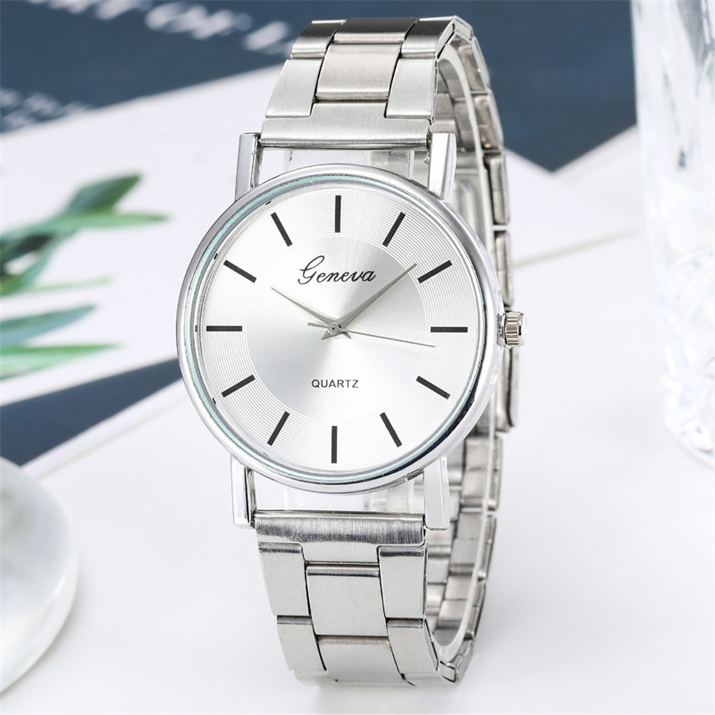 Luxury Simple Ladies Watch Women Quartz Watches Fashion Stainless Steel Dial Female Watch Girl Gift часы женские Reloj Mujer2020