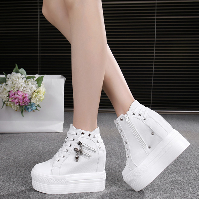 Outono feminino sapatos casuais denim tornozelo botas