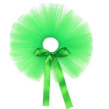 1pc Day Pet Skirt Festive Mesh Tutu Skirt for Dog Party Pet Garment(Green)