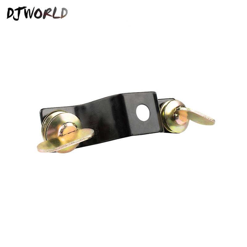 Djworld novo design de alumínio material placa base com bloqueio rápido para 230 w 7r pode ser escolher para luzes de palco acessórios melhor