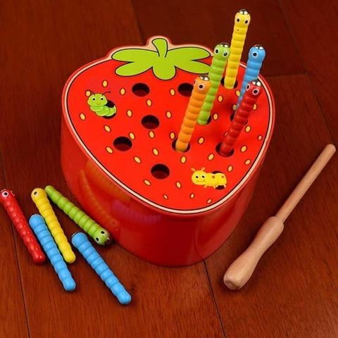 ca brinquedos de madeira bebe 3d