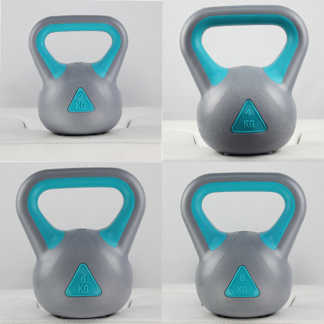 New style Professional Fitness kettle bell Body Building Lifting kettle-bell Unisex Exercise kettlebell swing 5