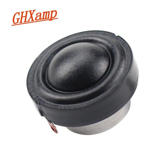 GHXAMP 1.25 นิ้วทวีตเตอร์ลำโพง 8ohm 50W เสียงหวานเรียบจำลองรสพิเศษเหล็กออกแบบ 1 ชิ้น