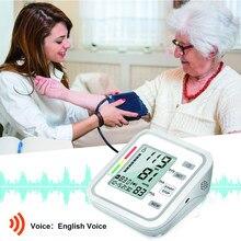 Taşınabilir üst kol tonometre kan basıncı monitörü kalp hızı tansiyon aleti akıllı otomatik dijital monitörler BP metre