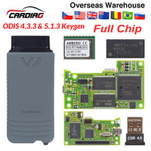 VAS5054 ODIS V4.3.3 keygen Full Chip Original OKI Auto OBD2 (China)