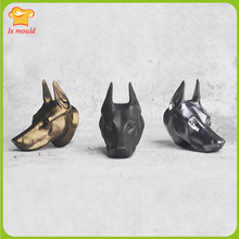 Dubin dog head silicone mold aroma plaster DIY baking tools
