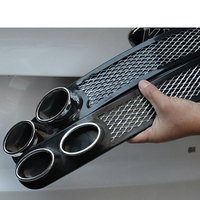 For Toyota Corolla Avensis RAV4 Yaris Honda Civic 2006 2011 Accord Car Styling 3D Cool Auto Carbon Exhaust Stickers