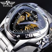 Winner Pilot Sport Mechanical Watch For Men Top Brand Luxury