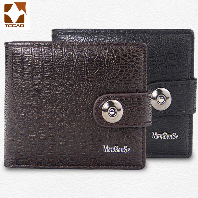 Men's Wallet Clutch Bag Short Hasp Wallet Male Leather Porto Feuille Homme Futebol Wallet Carteira Masculina Slim Port Money