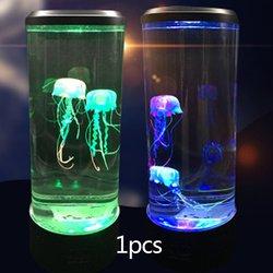 Medusas Led luz de noche hogar acuario decoración luces lámpara de noche creativas atmósfera luces de moda profesional hermosa
