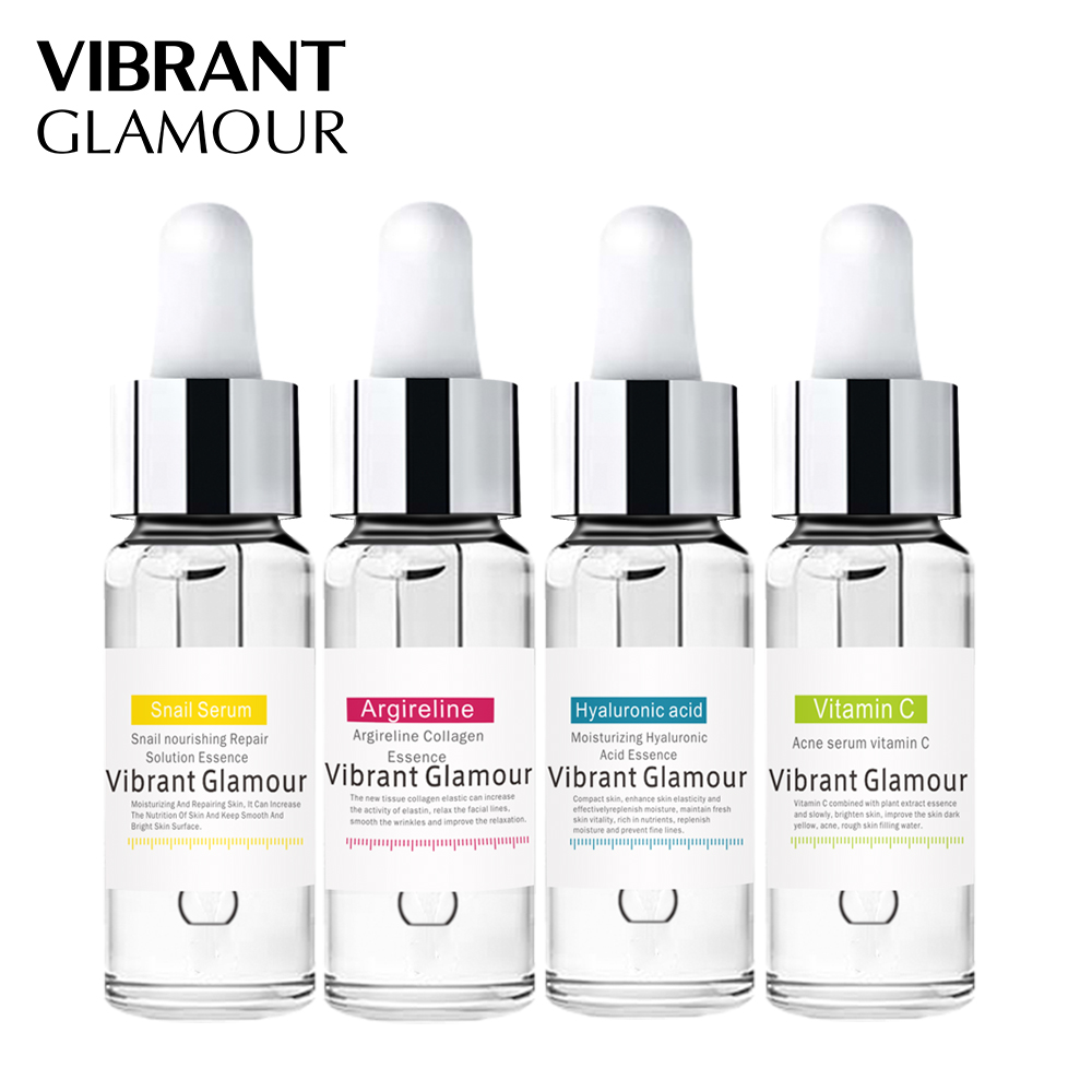 Argireline Hyaluronic Acid Face Serum Snail Serum Anti-wrinkle Serum Anti Acne Moisturizing Essence Skin Care Set VIBRANTGLAMOUR