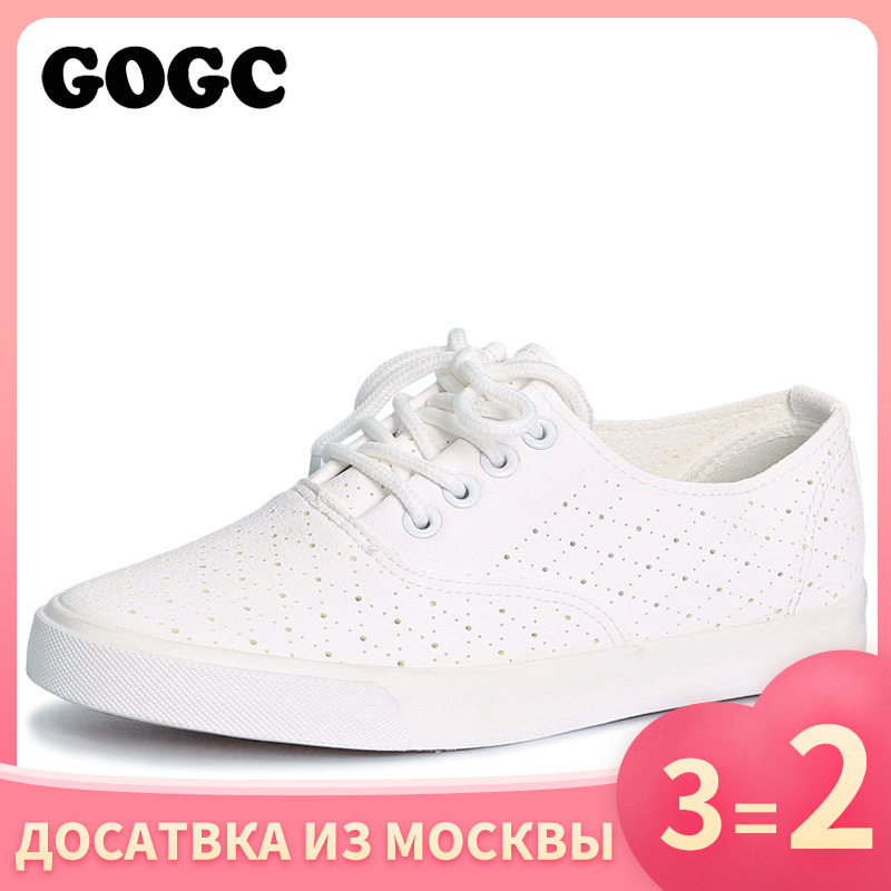 GOGC Women Shoes Comfortable Sneakers Female Breathable Brand Summer with Hole G916 title=