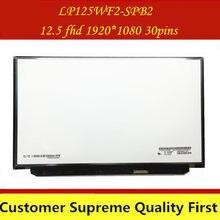 FHD IPS LP125WF2(SP)(B2) LP125WF2-SPB2 LP125WF2 SPB2 для ноутбука Lenovo Thinkpad X240 X250 X260 X270 X280