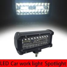 цена на LED Work Light Bar Waterproof IP67 Work Light For Driving Offroad Boat Car Tractor Truck 4x4 SUV ATV Spot Light Flood Lights