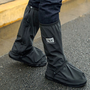 High Top Waterproof Shoes Covers For Shoes Motorcycle Cycling Bike Rain Boot Rain Cover for Shoes In Creek Rainy Snowing T4
