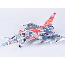 Avion de chasse Rafale en alliage moulé, modèle d'avion fini, Collection haut de gamme, scène, décoration, cadeau, 1/72