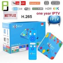 H96 Mini 4 Gb 128 Gb Android 9.0 Tv Box Allwinner H6 Quad Core 6K H.265 Wifi Netflix youtube Set Top Box H96mini 4GB 32GB h96max