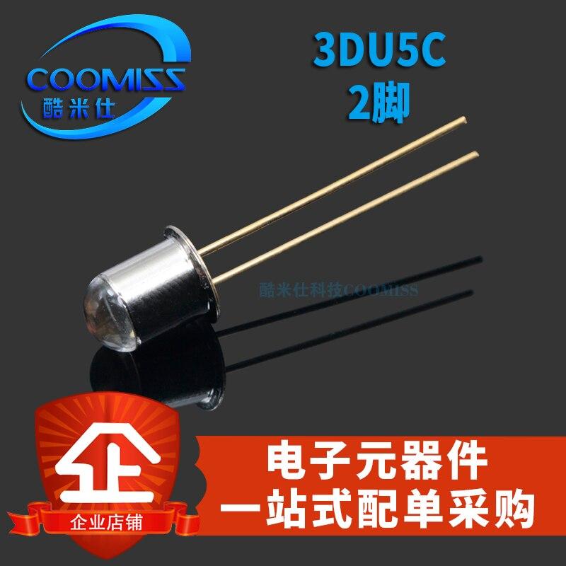 5 шт. 3DU5C кремниевый фототранзистор транзистор 2 фута посылка